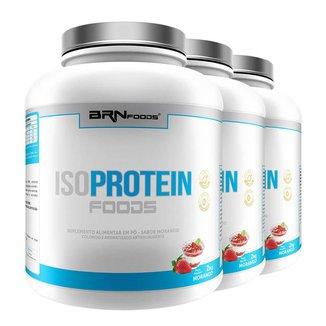 Kit 3X Isoprotein Foods 2Kg Brnfoods