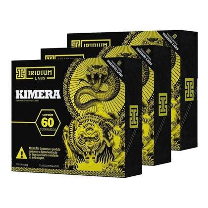 KIT 3X KIMERA 60 CAPSULAS - IRIDUM LABS (SEM SABOR)