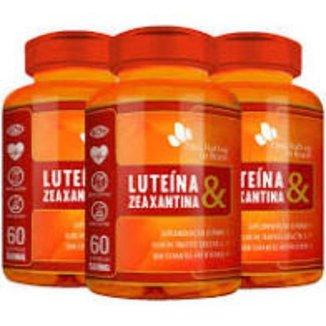 KIT 3X Luteína & Zeaxantina 60 cápsulas - Flora Nativa