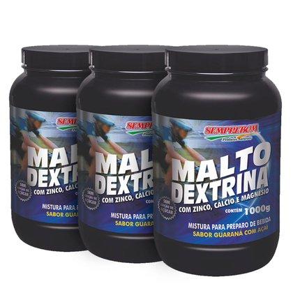 Kit 3x Malto Dextrina - SempreBom 1000 g