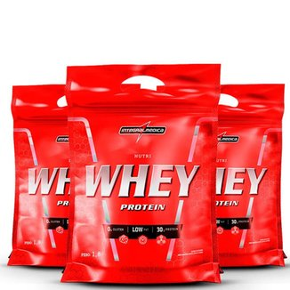 Kit 3x Nutri Whey Protein 1,8Kg -IntegralMédica