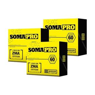 Kit 3X Soma Pro   60 Comprimidos    Iridium Labs