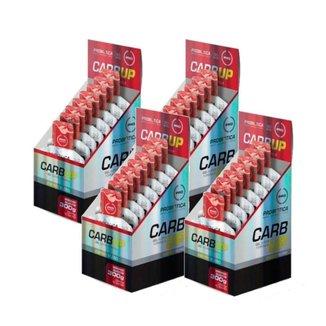 Kit 4 Carb Up Gel Super Morango Com 10 Sachês 30g Probiótica