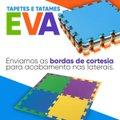 Kit 4 Tatames Eva Infantil 50x50x10mm Colorido
