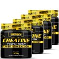 Kit 4x Creatina Power Rush 300g - Pretorian