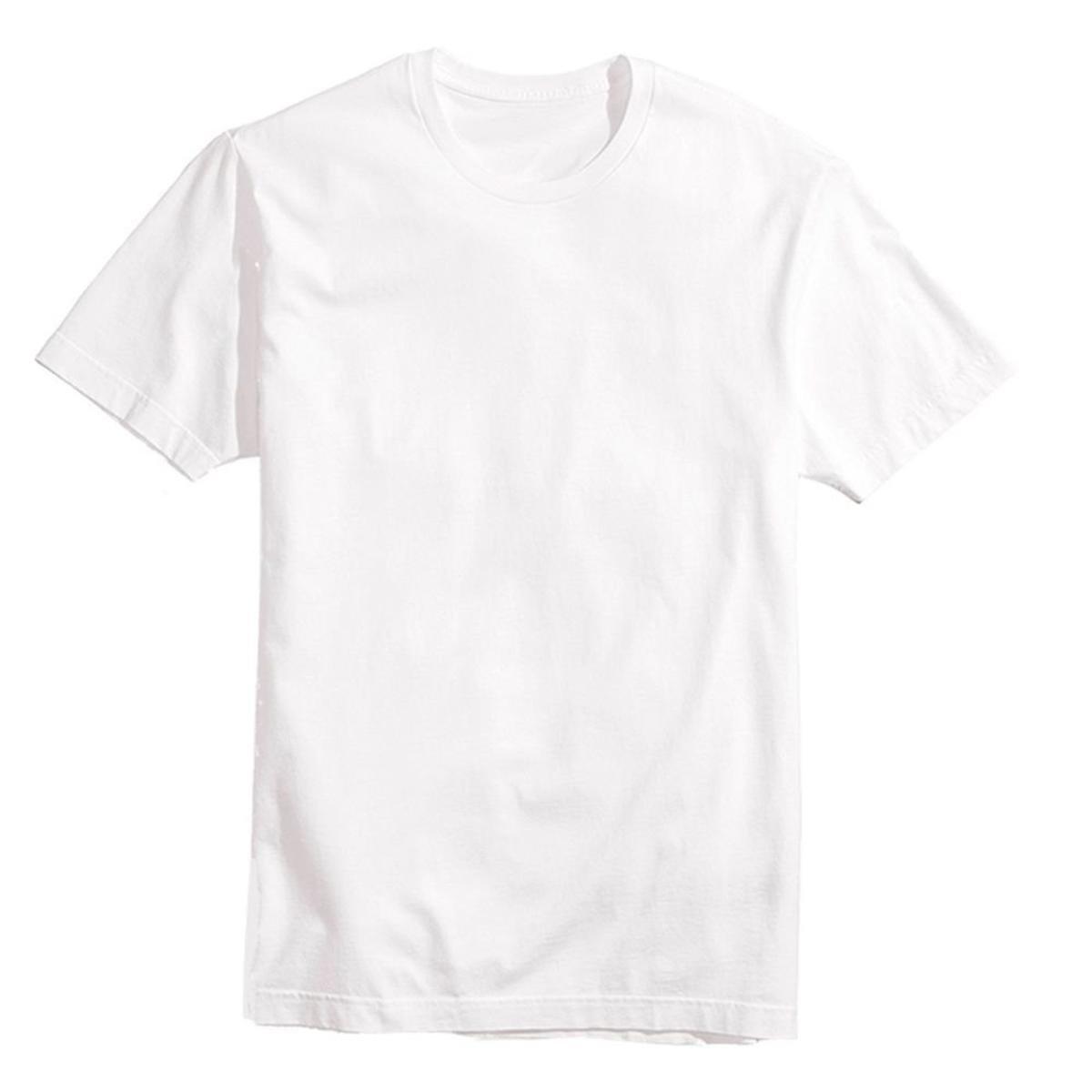 Kit 5 Camisetas Básicas Masculina T-Shirt Algodão Colors Tee - Preto ... c93c27ae17c7e
