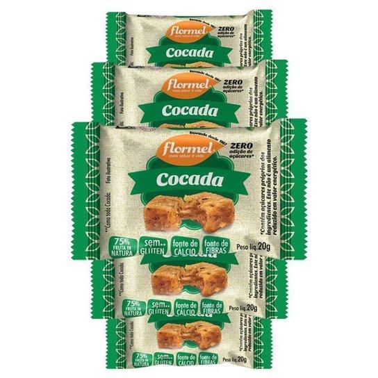Kit 5 Cocada  20g  Flormel -