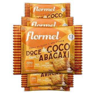 Kit 5 Doce Abacaxi com Coco Zero Açúcar Flormel