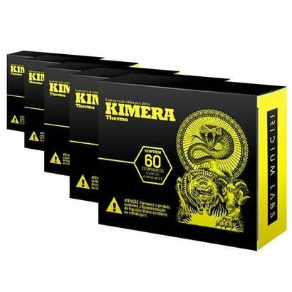 Kit 5 Kimera Thermo – 60 Comprimidos – Iridium Labs