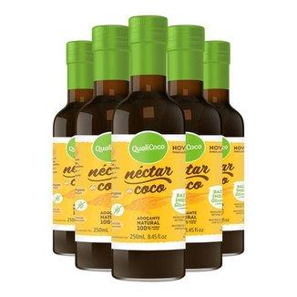 Kit 5 Néctar de coco da Qualicôco 250ml