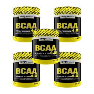 Kit 5x BCAA Ultra foods 250g - BRNFOODS