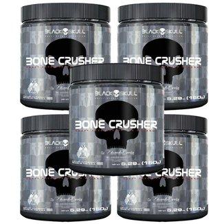 Kit 5X Bone Crusher - 150g Yellow Fever - Black Skull