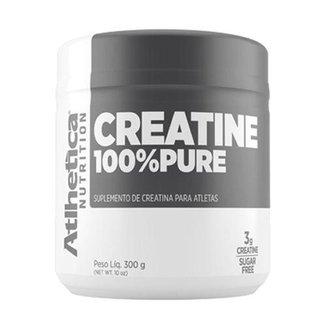 Kit 5X Creatina 100% Pure Pro Series - 300g Natural - Atlhetica Nutrition