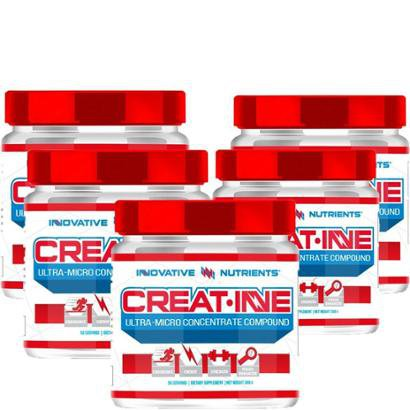 Kit 5x Creatina Ultra Micro Concentrate 300g - Innovative Nutrients