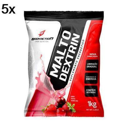 Kit 5X Malto Dextrin BodyAction – 1000g