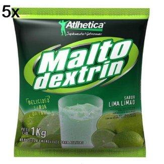 Kit 5X Malto Dextrin BodyAction - 1000g