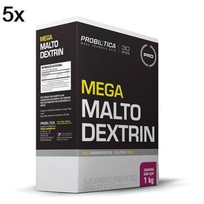 Kit 5X Mega Maltodextrin Probiótica – 1 Kg