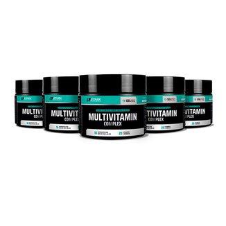 Kit 5x Multivitamin Complex - 120 Cápsulas - Stark Supplements