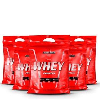 Kit 5x Nutri Whey Protein 907g - IntegralMédica