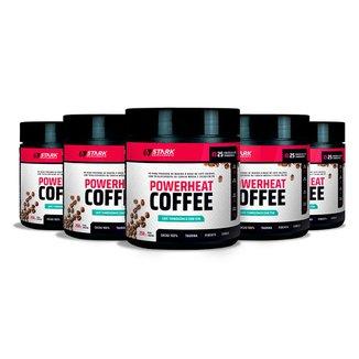 Kit 5x Powerheat Coffee - 250 g - Stark Supplements