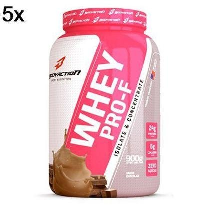 Kit 5X Whey PRO-F BodyAction – 900g