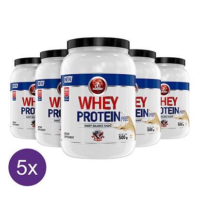 Kit 5x Whey Protein 500g – Midway USA
