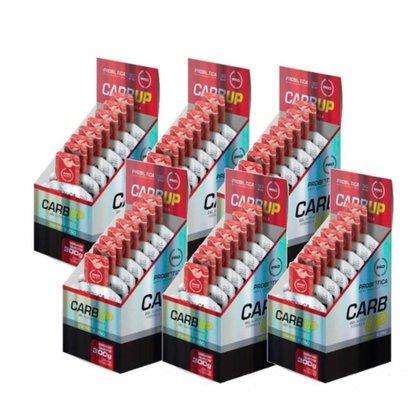 Kit 6 Carb Up Gel Super Morango Com 10 Sachês 30g Probiótica