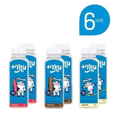 Kit 6 pack Mais Mu tradicional – 2 Unidades de cada sabor