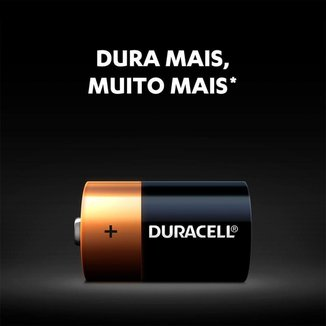 Kit 8 Pilhas Duracell Duralock  Alcalina D