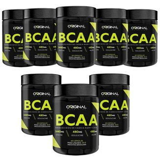 Kit 8x Bcaa ON 3:1:1 60 Cáps - Original Nutrition