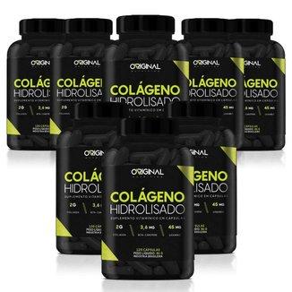 Kit 8x Colágeno Hidrolisado 120 Cáps - Original Nutrition