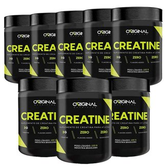 Kit 8x Creatina 100% Pure 100g - Original Nutrition