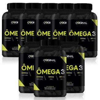 Kit 8x Ômega 3 120 Cáps - Original Nutrition