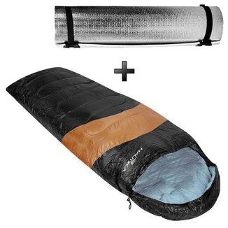 Kit Acampamento - Saco De Dormir Viper + Isolante Térmico