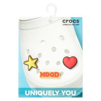 Kit Acessório Para Crocs Infantil Jibbitz Feelings 3 Unidades