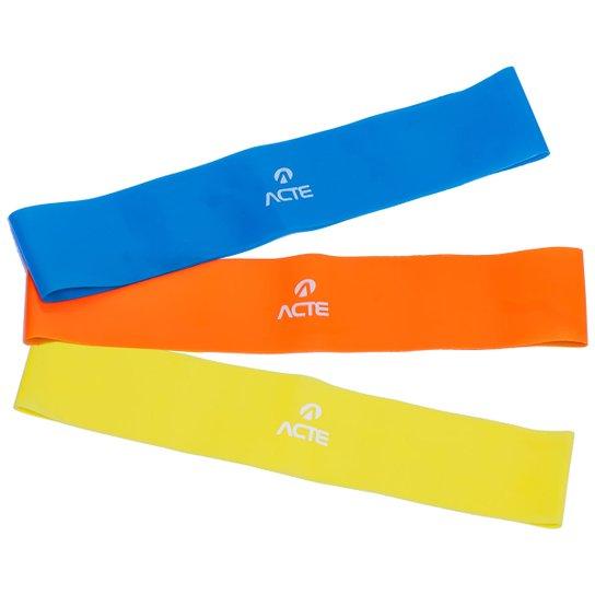 Kit Acte Mini Band Sports - Amarelo+Laranja