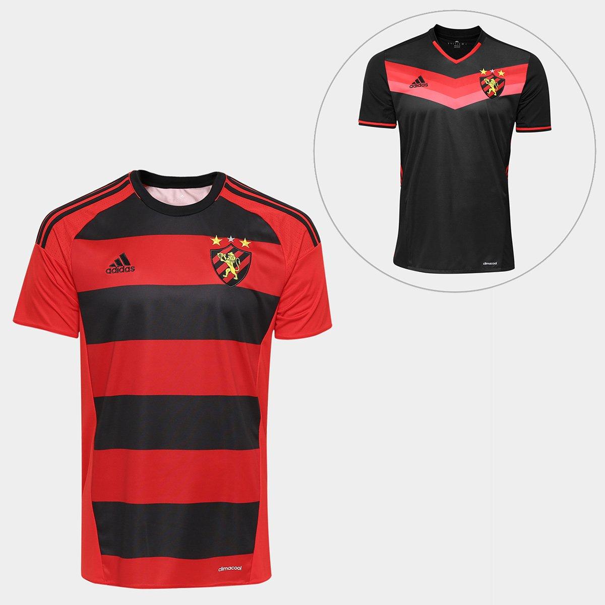 59e1d9fb83426 Kit Adidas Sport Recife 2016 - Camisa I + Camisa II - Compre Agora ...