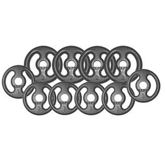 Kit Anilhas De Ferro Fundido - 14kg