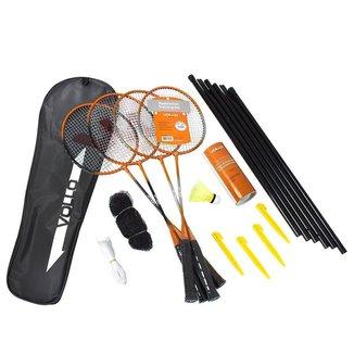 Kit Badminton Vollo Vb004 -Vollo Sports - 9 Peças