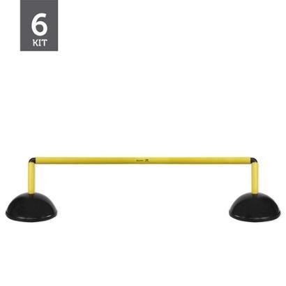 Kit Barreiras de Salto Plástico Muvin 20cm - 6 Unids. - Unissex