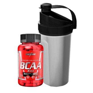 Kit Bcaa 2:1:1 90 Caps + Squeeze Top 600Ml Integralmedica