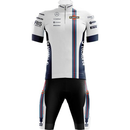 Kit Bermuda + Camisa Pro Tour Williams F1