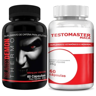 Kit Black Demon 60 Cápsulas c/ Testomaster 60 Cápsulas – Intlab