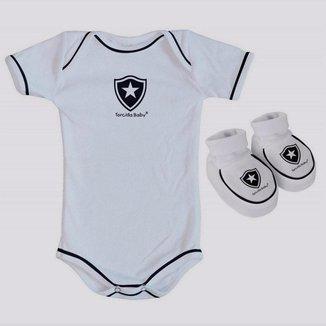 Kit Body Botafogo Branco