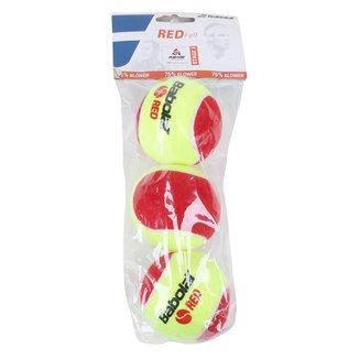 Kit Bola de Tênis Babolat Red Felt X3 Stage 3 c/ 3 Bolas