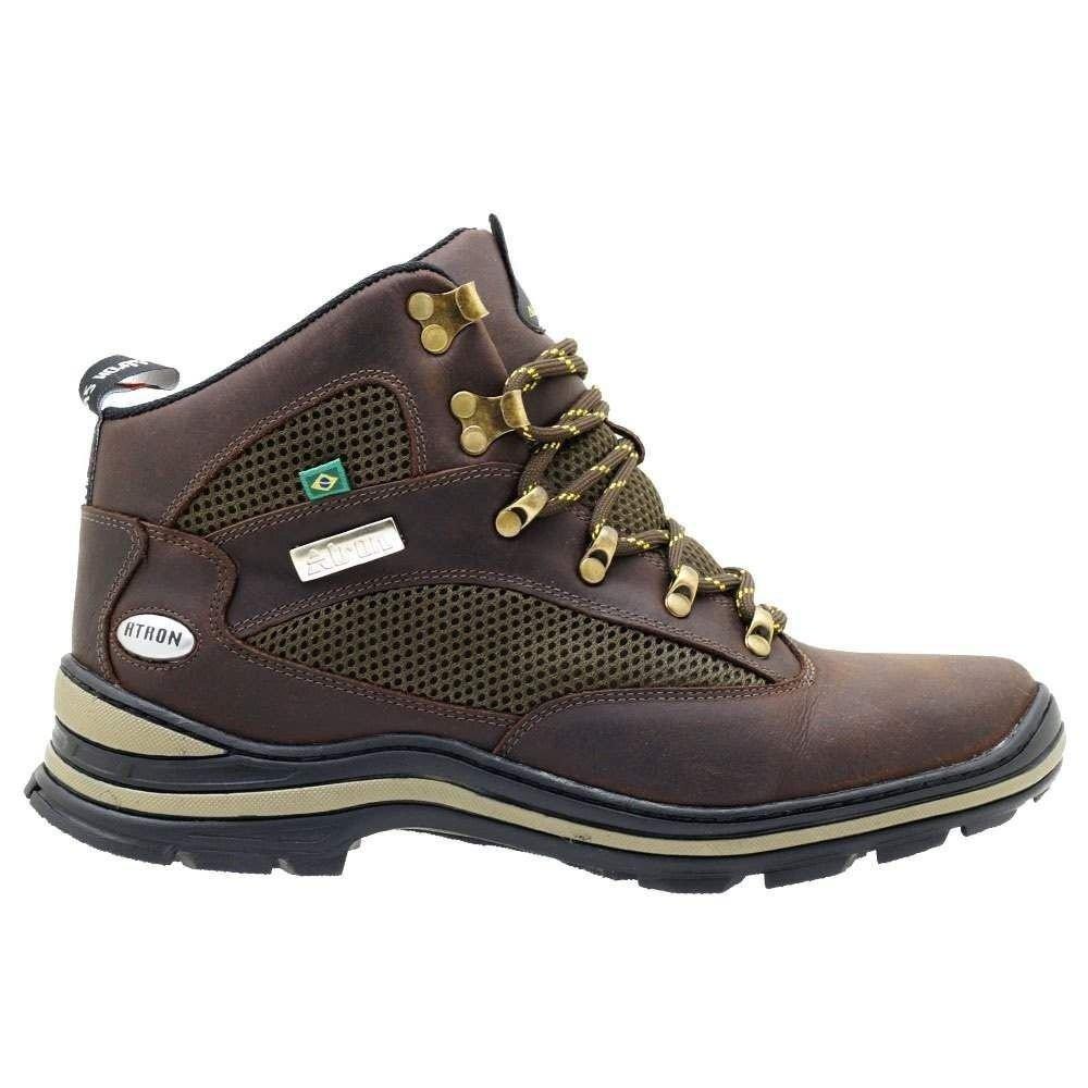 Shoes e Café Couro Adventure Atron Kit Cinto Bota Meia Lupo qxwOtB7AYv
