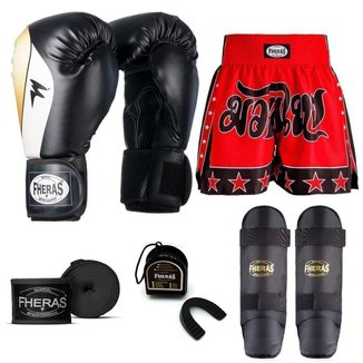 Kit Boxe Muay Thai Fheras Top Horus (03003856)