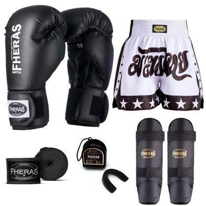 Kit Boxe Muay Thai Fheras Tradicional (01000494)