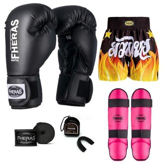 Kit Boxe Muay Thai Fheras Tradicional (01000504)