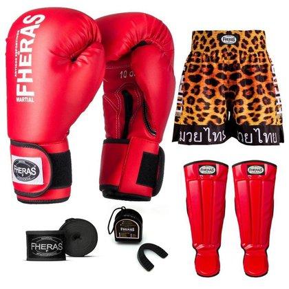 Kit Boxe Muay Thai Fheras Tradicional (01000643)